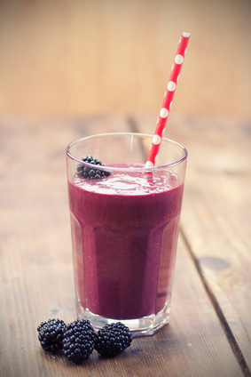 berry blast smoothie image