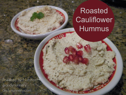 Roasted Cauliflower Hummus |