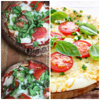2 Simple & Easy Healthy Pizza Recipes