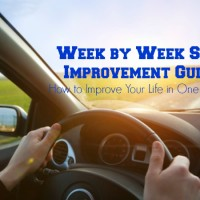 Week by Week Guide to Self Improvement