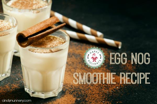 eggnog smoothie